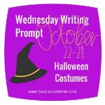 Wednesday Writing Prompt: Halloween Costumes
