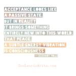 Creating my meditation practice.