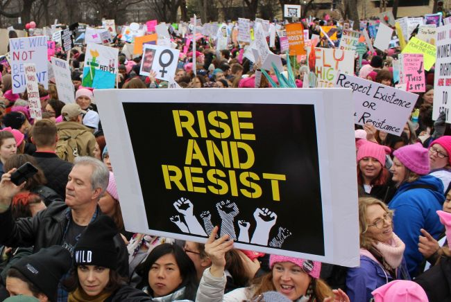 Women's March on Washington - Recap | SeeLaurieWrite.com