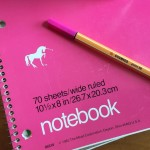 Magic Unicorn Notebook