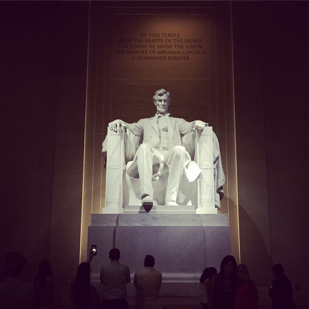 SeeLaurieWrite.com | Lincoln Memorial by Moonlight